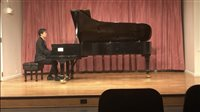 Skilled pianist, researcher becomes BBHS top scholar
