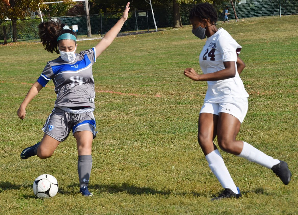Lady Rams' soccer team starts slow, picks up speed and kicks off season by knocking off ranked Ossining