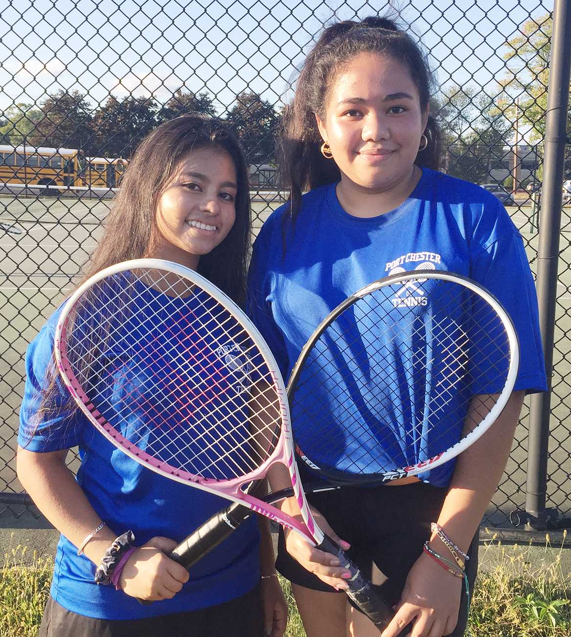 Lady Rams' tennis swinging into action