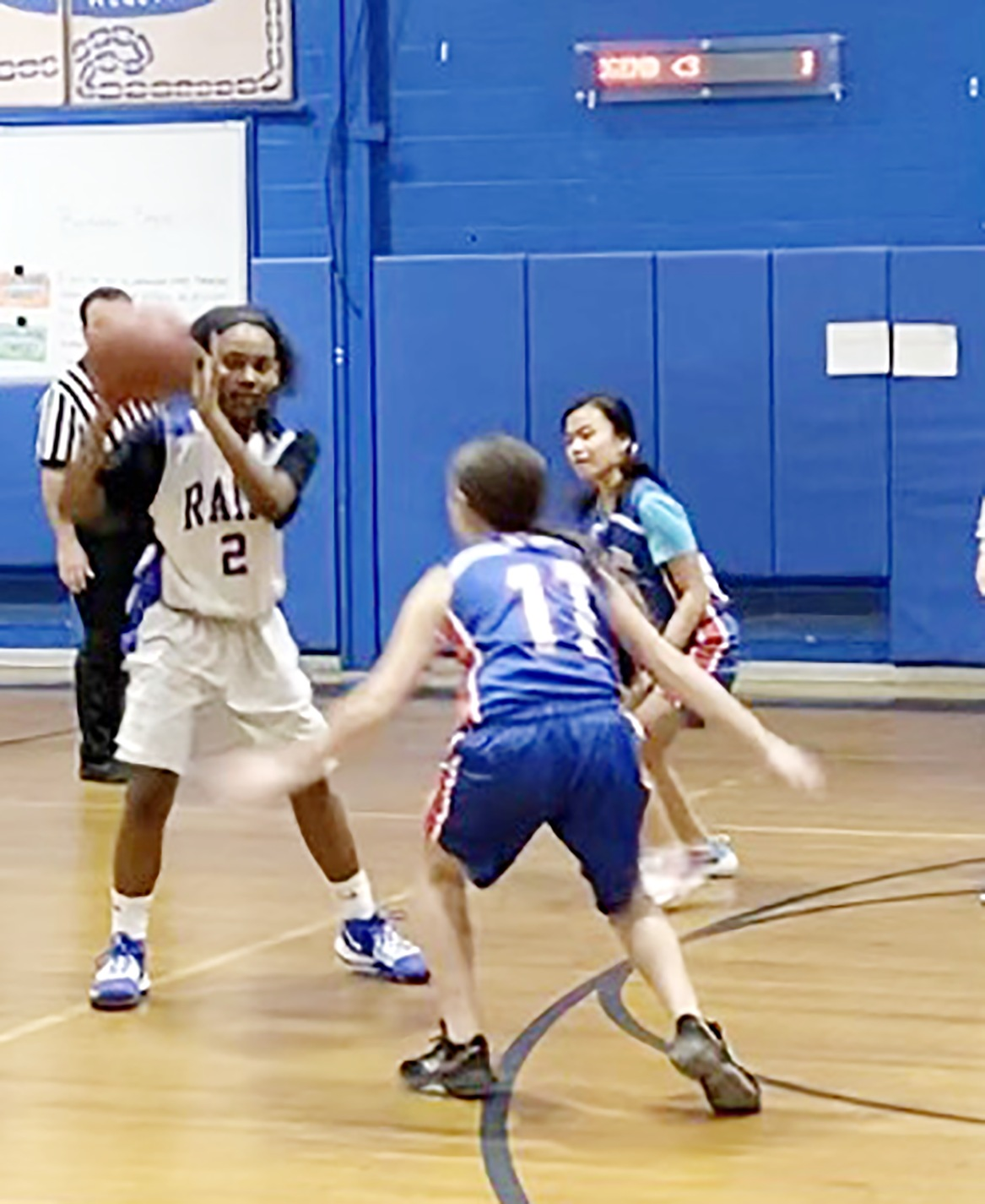 Girls inspire girls to take charge on the court